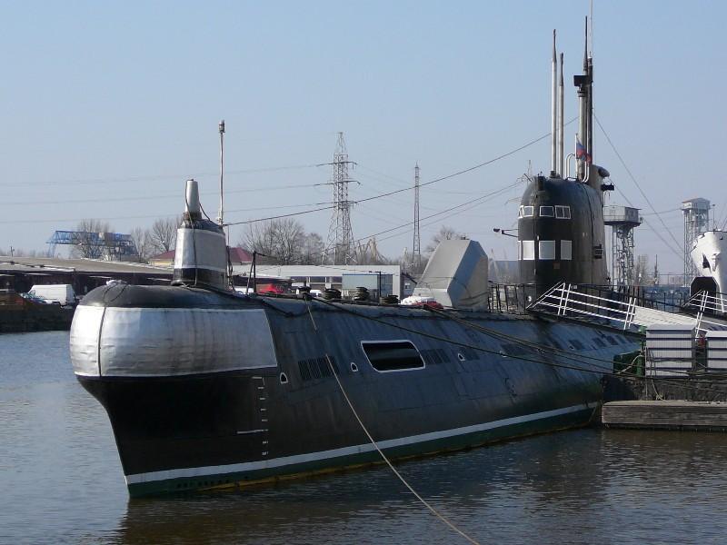 подводная лодка в калининграде